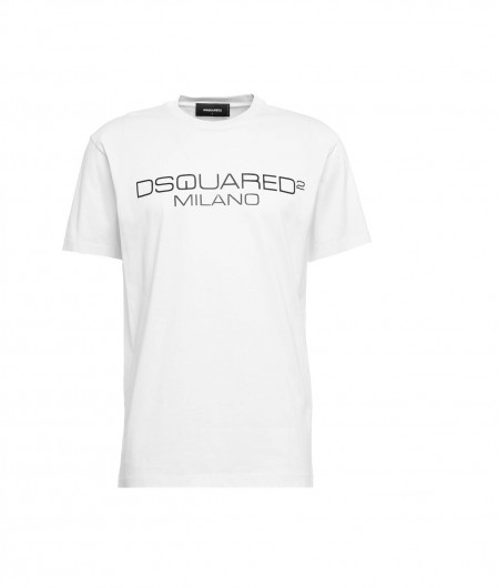 Dsquared2 T-shirt with logo white