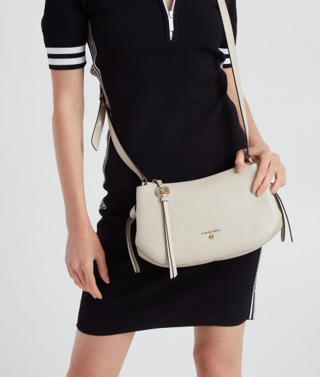 "Michael Kors Crossbody bag ""Grand"" light gray"