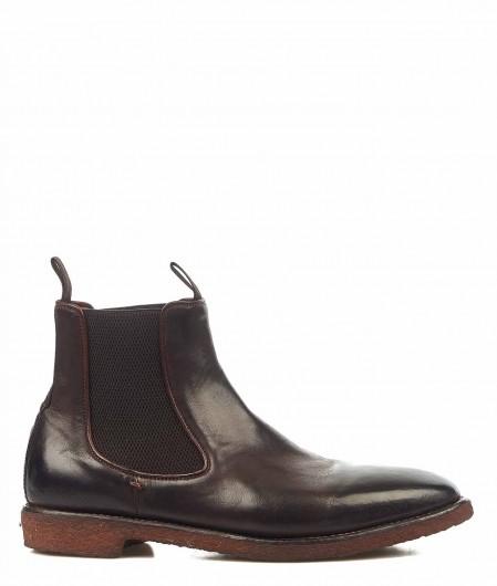 Lemargo Ankle boots ohne Verschluss Dunkelbraun