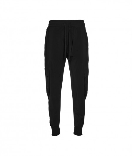 Thom Krom Drop crotch pants black