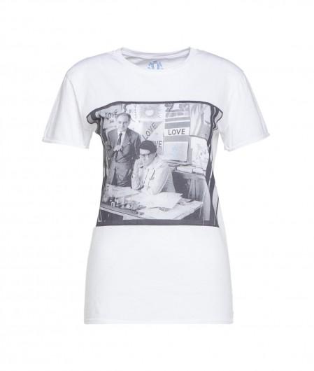 """Elite 55 T-Shirt """"Love"""" Weiß"""