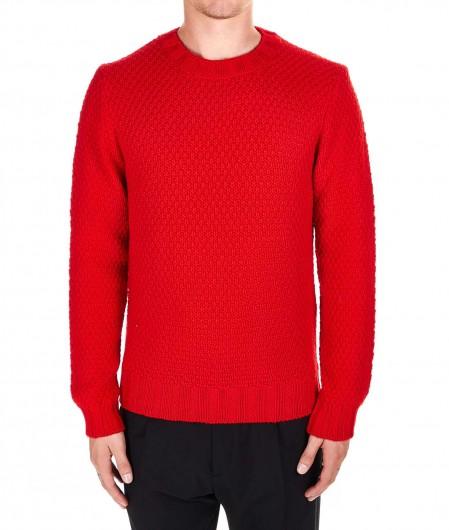 Filippo de Laurentiis  Merino sweater red