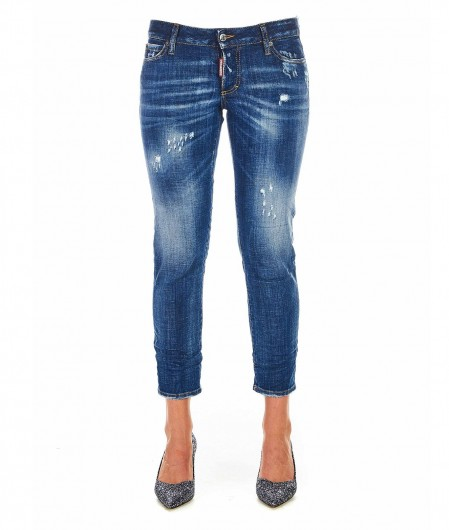 "Dsquared2 Jeans ""Jennifer Cropped"" blue"