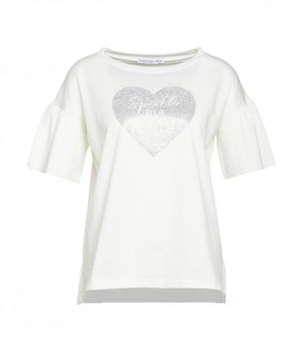 "Kaos T-Shirt ""Sparkle"" Weiß"