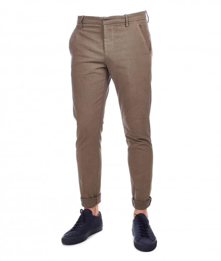 "Dondup Patterned Chino trousers ""Gaubert"" brown"