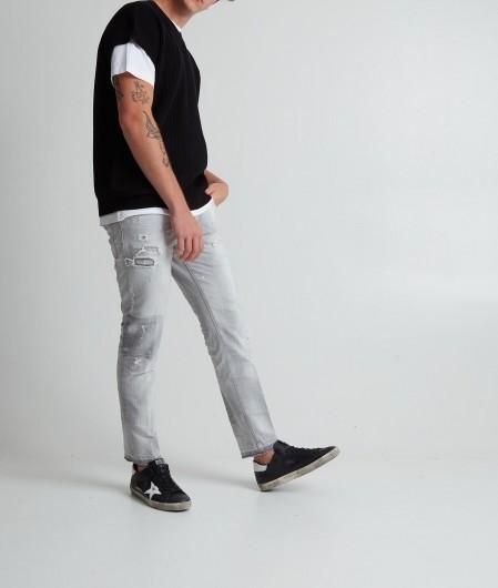 Dsquared2 Skater Jean Hellgrau