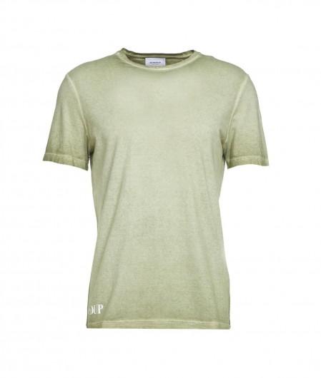 Dondup T-Shirt mit Logo Grün