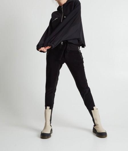 Thom Krom Joggers in textile mix black