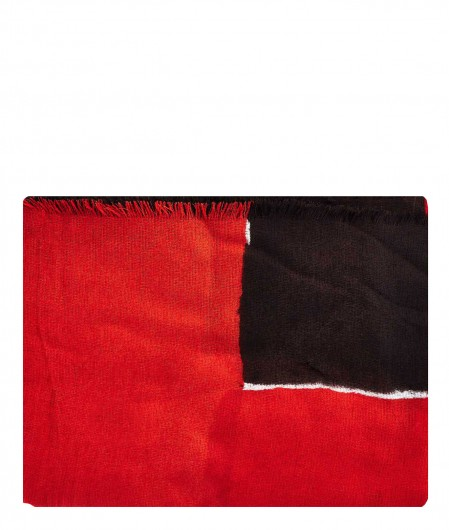 Altea Bi-coloured scarf red