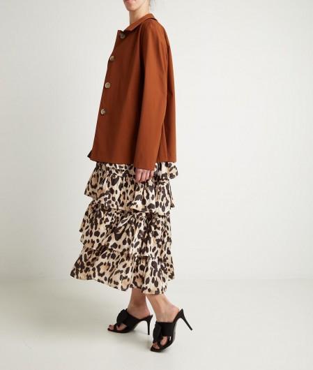 "5 Progress Maxi dress ""Lovely"" brown"