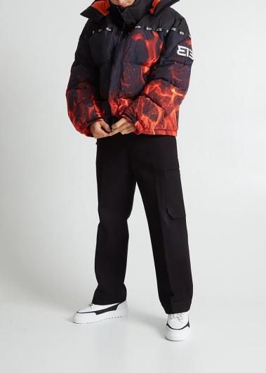 Looking fiery