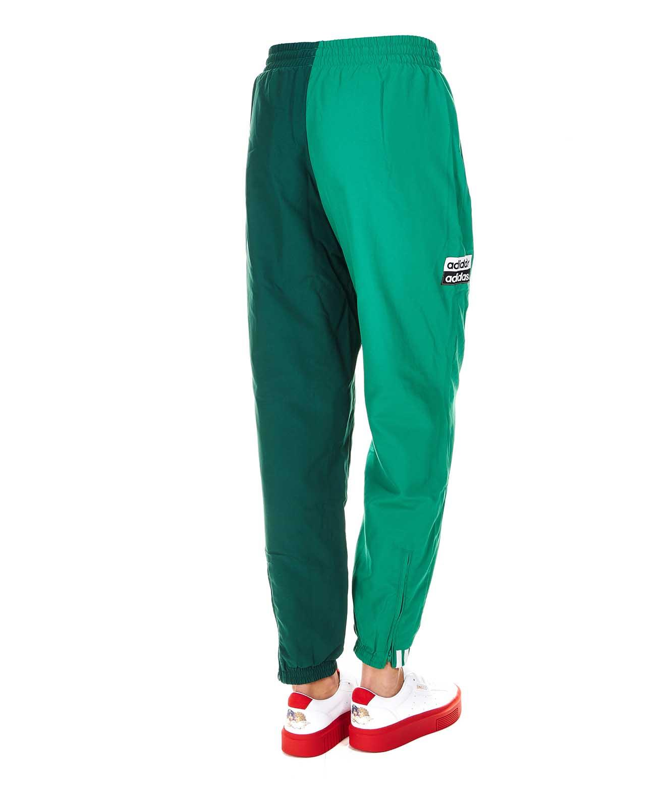 Adidas Originals Pantalone jogging bicolore verde | Maximilian