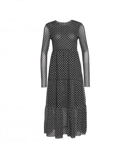 "Baum und Pferdgarten Polka-dot dress ""Jocelina"" with flounces black"