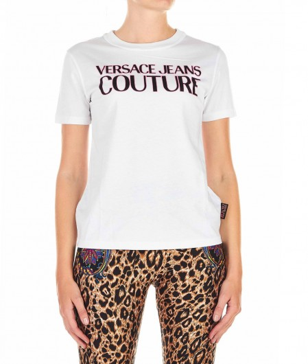 Versace Jeans Couture T-shirt with logo white