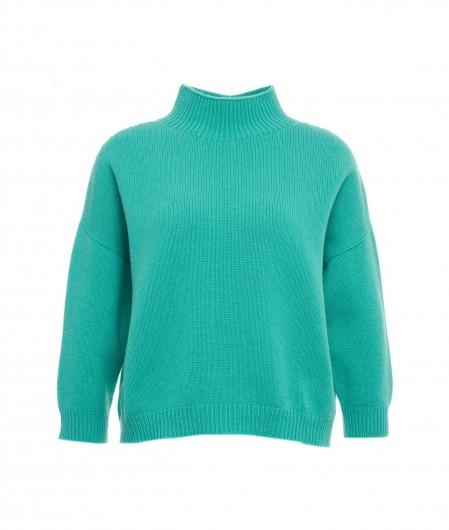 MVM Sweater in cashmere blend green