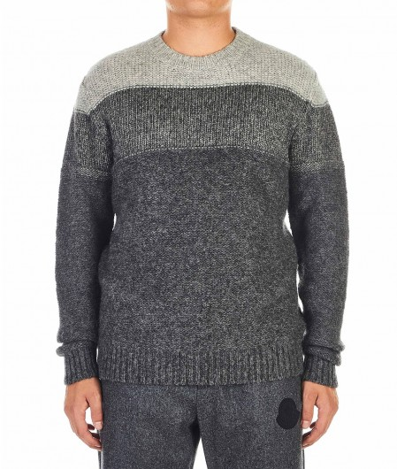 Roberto Collina Knitted sweater gray