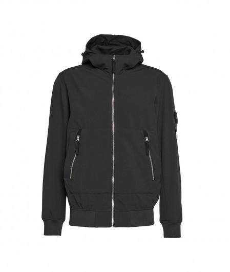 "Stone Island Outdoor jacket ""Light Soft Shell"" black"