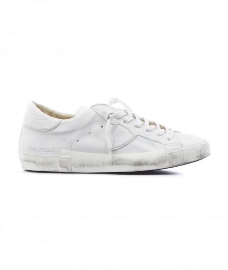"""Philippe Model Sneaker """"LOW MAN"""" Weiß"""