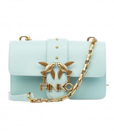 Pinko Crossbodybag with logo light blue