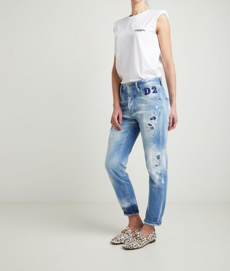 "Dsquared2 Jeans ""Skinny Dan"" Blau"