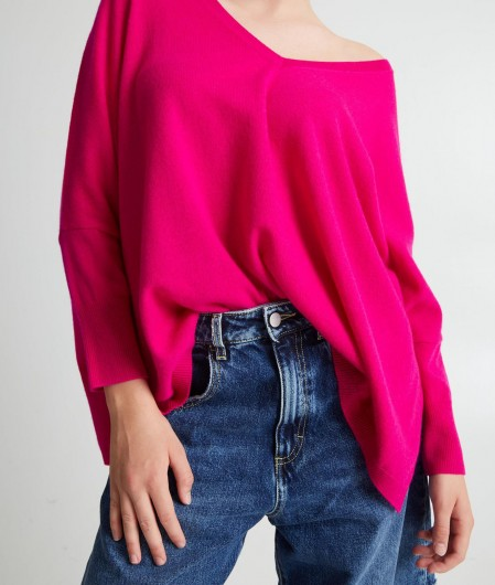 "Kujten Oversize sweater ""Minie"" purple"