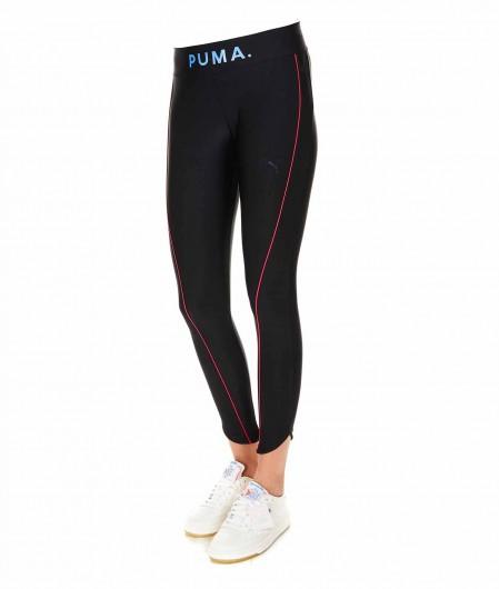 Puma Chase Graphic Legging Schwarz