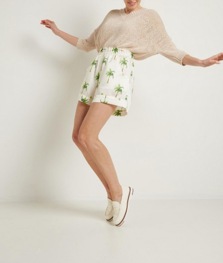 Roberto Collina Knitted sweater nude