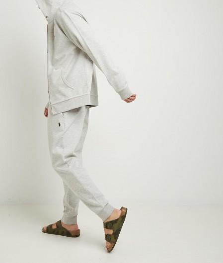 Polo Ralph Lauren Sweater mit Zip und Logostickerei Hellgrau