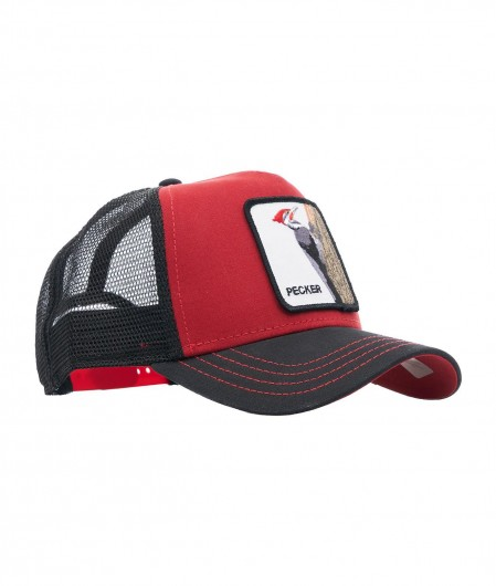 "Goorin Bros Baseball cap ""Pecker"" red"