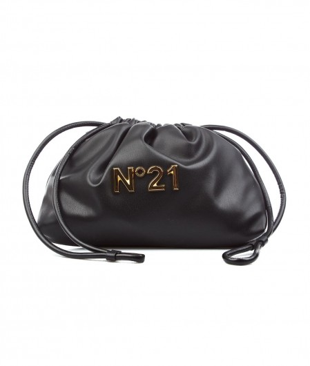 "N°21 Coulisse ""Eva"" Mini with logo black"