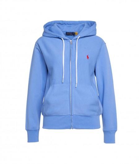 Polo Ralph Lauren Zipped hoodie blue