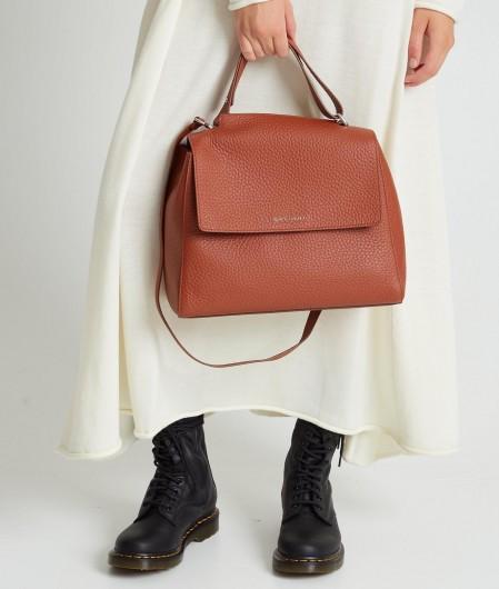 """Orciani Handbag """"Sveva Medium"""" light brown"""
