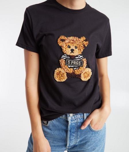"5 Progress T-shirt ""Bear Tie black"