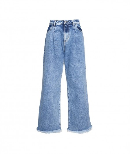 "Icon Denim Jeans ""Hailey"" with fringes blue"