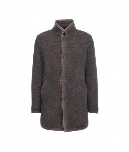 Gimo's Jacket in wool brown