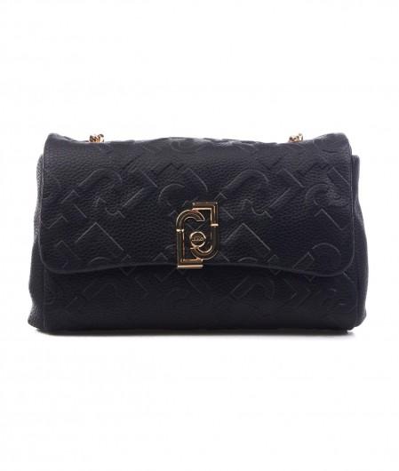 Liu Jo Sustainable crossbody bag black