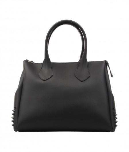 Gum  Handbag Fourty with stud applications black