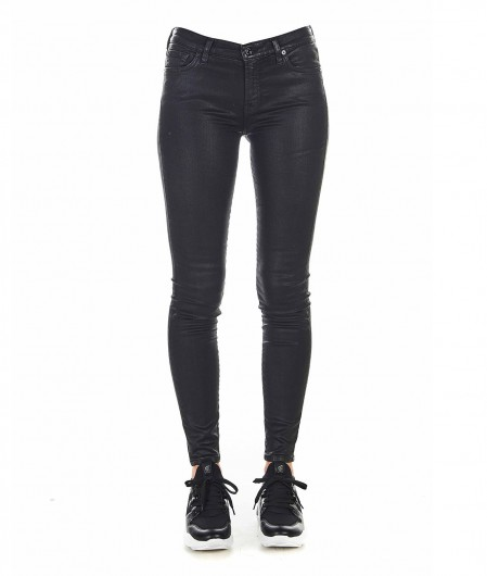 """7 for all mankind Jeans """"The Skinny"""" Schwarz"""