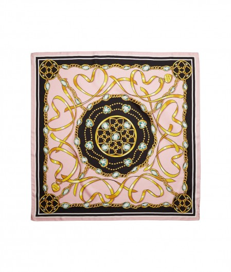 Moschino Foulard with print rose