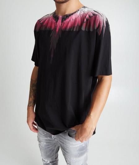 """Marcelo Burlon T-shirt """"Wings Regular"""" black"""