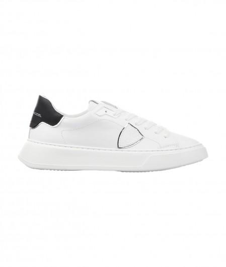"Philippe Model Sneaker ""TEMPLE LOW VEAU"" Weiß"
