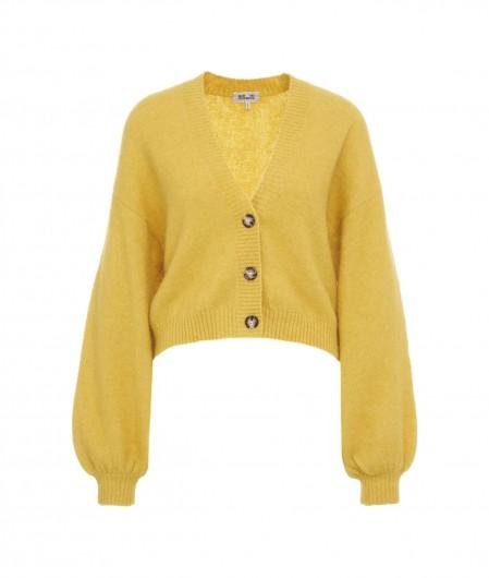 """Baum und Pferdgarten Knitted cardigan """"Chasmeen"""" yellow"""