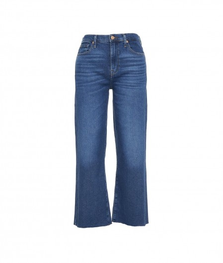 """7 for all mankind Jeans """"Cropped Alexa"""" blue"""