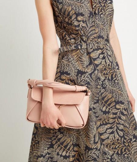 Liu Jo Handbag with chain detail brown