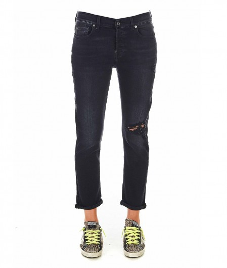 """7 for all mankind Jeans """"Asher"""" Schwarz"""