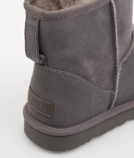 "UGG  Boots ""Classic Mini"" dark gray"