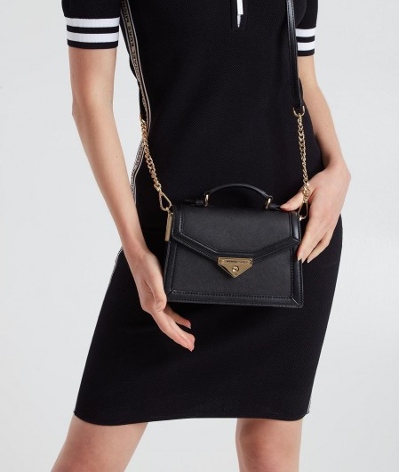 "Michael Kors Case bag ""Grace"" black"