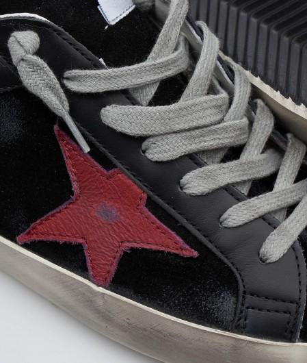 """Golden Goose Sneakers """"Super-Star Double Quarter"""" Schwarz"""