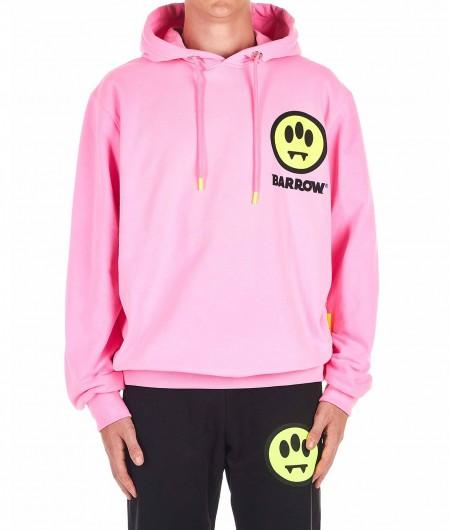 Barrow Hoodie with logoprint pink