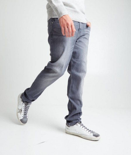 """7 for all mankind Jeans """"Slimmy Tapered"""" gray"""